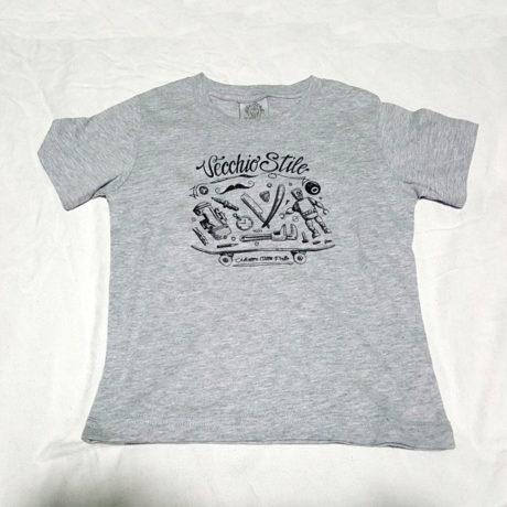t-shirt bambino vecchio stile