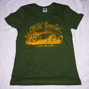 T-shirt-donna-OLD-NEVER-DIE