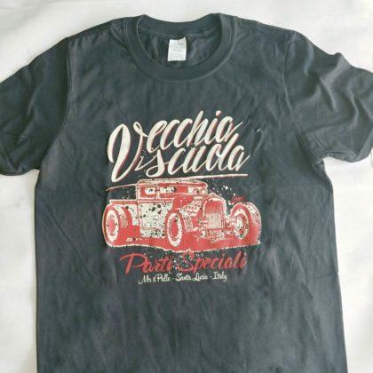 Vecchia-scuola-uomo-t-shirt
