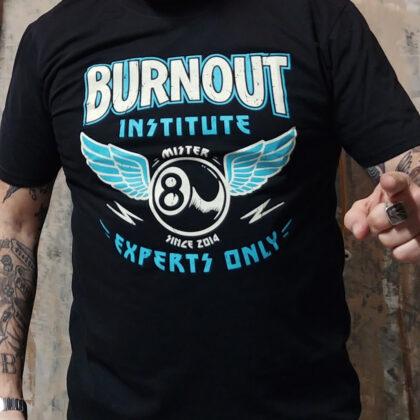 burnout maglietta misterottopalle